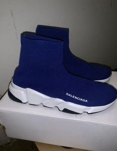 New (never used), Size 9 Check out more accessories on my page. Pink Balenciaga, High Top Sneakers, Shoes Sneakers, Aesthetic Shoes, Custom Shoes, Sock Shoes, Shoe Brands, Atlanta, Footwear