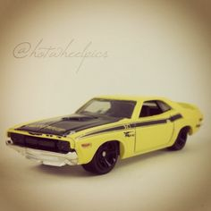 "#242 - '71 Dodge Challenger - 2014 Hot Wheels HW Workshop ""Performance"" #hotwheels | #toys | #Dodge"