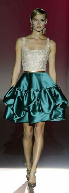 Hannibal Laguna F/W 2014-2015 I can use this pattern for bride maid's dresses.