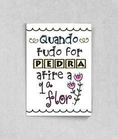 Poster com Frase para sala