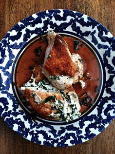 Stuffed Chicken Breast (gluten free) from @Shauna Ahern