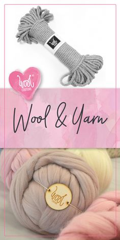 Chunky wool, Cheeky Chunky, Gentle Giant, Epic Extreme and Macrame Yarn - Wool Couture Chunky Wool, Gentle Giant, Wool Yarn, Etsy Store, Loom, Macrame, Couture, Knitting, Create