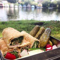 Meine Cassavawraps sind eine tolle Alternative, für die Lunchbox