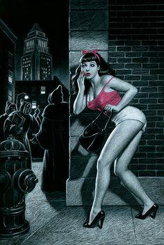Noirsville - the film noir: Noirsville Bonus Pulp Art