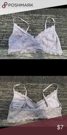 fe545c83886b7 Bralette Lavender lace bralette. From Old Navy size Large Old Navy Intimates    Sleepwear Bras