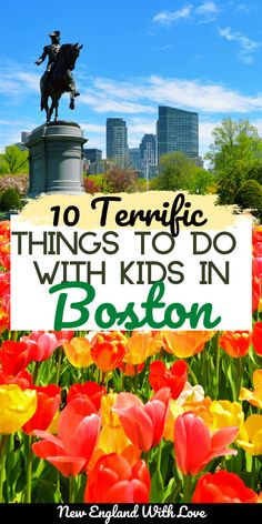 Boston with kids is a blast! There are so many Boston activities that are great for families, children, and adults. We share some of the best things to do to enjoy the best of Boston, MA as a family! #NewEngland #FamilyTravel