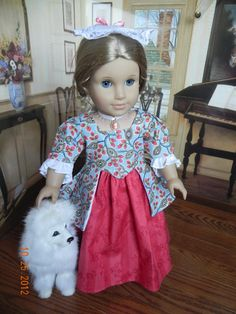 Colonial Gown with by TheWhitePoodle via Etsy