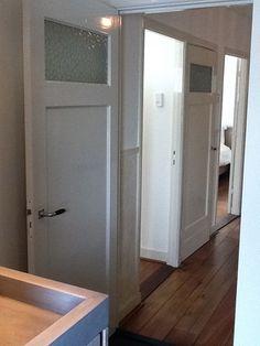 2011 - Allemaal paneeldeuren sfeertje...#design in jaren '30 woning!