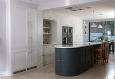 A Bespoke Kitchen in Holland Park, London by Tim Moss Kitchens