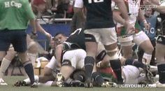This is why I love rugby... Because we are gentlemen until you don't follow the rules, then we become bad ass motherfuckers like this... #gif