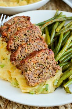 Delicious Mini Meatloaves with a Tomato Glaze that you do not need to share, as each little meatloaf is a single serving - Perfect!!
