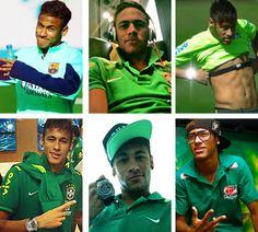"""24 photos of Neymar + green"""