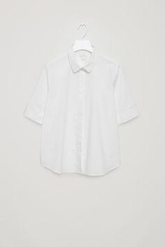 COS | Short sleeve poplin shirt