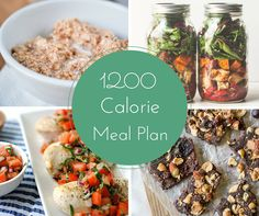 1200 Calorie Meal Plan | These low calorie recipes will help you get healthy and stay healthy! You'll never find better healthy recipes than these!