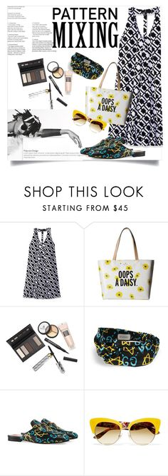 """""""Oops A Daisy"""" by clotheshawg ❤ liked on Polyvore featuring Ronni Nicole, Kate Spade, Borghese, Chanel, Gucci and Dolce&Gabbana"""
