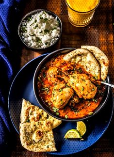 #aromatic #together #instant #chicken #loving #things #simple #indian #lately #comes #curry #style #north #spi... Indian Chicken Recipes, Paella, Curry, Simple, Ethnic Recipes, Easy, Food, Curries, Essen