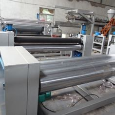 Dali Car mat Laminating machine  is a complete production line adopting cast film process to heat and extrude PE, EVA, TPR, PP, and other material, coat to substrates(base fabric), press and cool, finally take up in rolls. www.dali-plasticmachinery.com