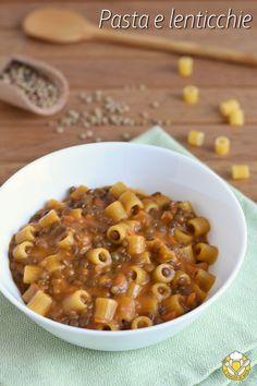 Healthy Pasta Recipes, Cooking Recipes, Pasta Con Broccoli, Sicilian Recipes, Sicilian Food, Confort Food, Tapas, Pasta E Fagioli, Salty Foods