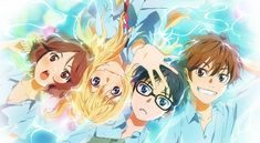 Be you, only you: #Anime: SHIGATSU WA KIMI NO USO (Your lie in April...