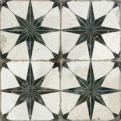 Merola Tile Kings Star Blue in. Ceramic Floor and Wall Tile sq. / case) floors Merola Tile Kings Star Blue Encaustic in. Ceramic Floor and Wall Tile sq. / case)-FPESTRB - The Home Depot Wall Patterns, Star Patterns, The Tile Shop, Carlo Scarpa, Wall And Floor Tiles, Kitchen Floor Tile Patterns, Patterned Kitchen Tiles, Wet Rooms, My New Room