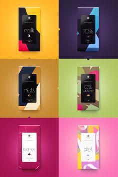Moncloa Chocolates — The Dieline - Branding