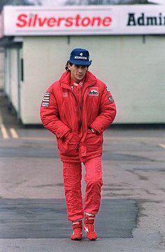 Ayrton Senna - McLaren - GP de Silverstone, Inglaterra.