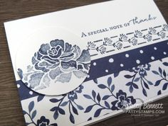 Floral Boutique Stampin' Up! Note Cards
