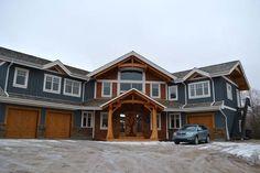 Saskatoon Custom Timber Frame Home- Tamlin Homes-exterior