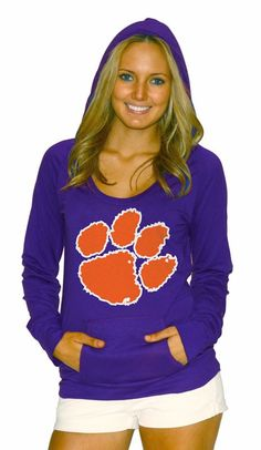 Clemson Tigers Stretch Pocket Hoodie on sale for $34.99