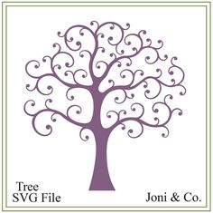 Tree svg, tree of life svg, wedding svg, nature svg, family tree svg, tree illustration, greeting cards, signs, iron on tree, printable, Welcome,  Thank you for visiting the shop and having a look at the original artwork offered here.  This is an instant download of a SVG file to be used The file is in black and white for you to color with your favorite color.  WHAT YOU WILL RECEIVE  Your svg file will be in a zip folder for download.  A download link will be emailed to you just a few…