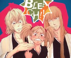 Bleach - Shinji Hirako x Kisuke Urahara + Hiyori Sarugaki