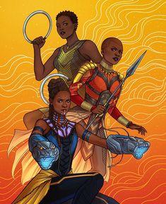 Wakanda Forever ✊ BY: @jenbartel #BlackPanther
