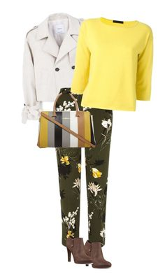 """""""spring"""" by ecem1 ❤ liked on Polyvore featuring MANGO, River Island, FABIANA FILIPPI and Nine West"""