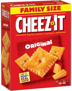 Grab the FAMILY SIZE box of Cheez-It Crackers for just $3.93 at the military commissary thru the end of this month!  See all the other awesome Kellogg's deals here, too!  --> www.kelloggsmilitary.com