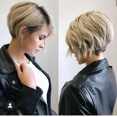 Today we have the most stylish 86 Cute Short Pixie Haircuts. We claim that you have never seen such elegant and eye-catching short hairstyles before. Pixie haircut, of course, offers a lot of options for the hair of the ladies'… Continue Reading → Latest Short Haircuts, Thin Hair Haircuts, Short Pixie Haircuts, Short Hairstyles For Women, Diy Hairstyles, Layered Hairstyles, Long Pixie Bob, Bob Short, Teen Haircuts