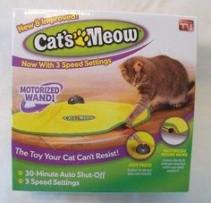 cool NEW As seen on TV CATS MEOW Moving CAT TOY Undercover Fabric Moving like Mouse - For Sale Check more at http://shipperscentral.com/wp/product/new-as-seen-on-tv-cats-meow-moving-cat-toy-undercover-fabric-moving-like-mouse-for-sale/