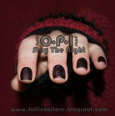 fall in ...naiLove!: Piaskowy post: O.P.I Liquid Sand Stay The Night.