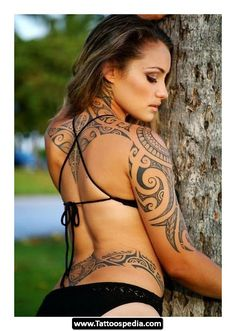 i love this tribal tattoo cause im native and ive always wanted one.