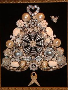 kattz*cottage: Where Women Create......Jeweled Christmas Trees ~~