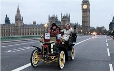 All go for London to Brighton Veteran Car Run