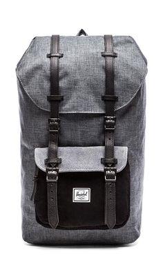 "0e6b01b282e Sac à dos noir ""Heritage backpack in ranch"" de Herschel"