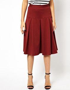 MADEMOD | Midi Skirt with Box Pleats  #modest #clothing #tznius #tzniut #mademod #skirts