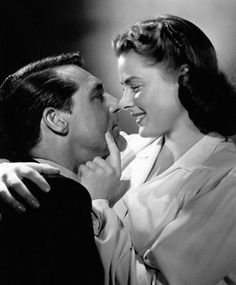 Cary Grant and Ingrid Bergman starred in two films together ~ NOTORIOUS (1946) and INDISCREET