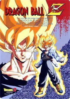 Vintage Dragon Ball Z Shitajiki by Animetopia / Toei Animation / Fuji TV (1992) - Visit now for 3D Dragon Ball Z compression shirts now on sale! #dragonball #dbz #dragonballsuper