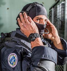 Casio G-Shock GD-350 GIGN. Groupe d'intervention de la Gendarmerie Nationale…