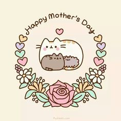 Pusheen: Happy Mother's Day