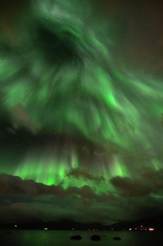 Aurora Borealis in Troms, Norway