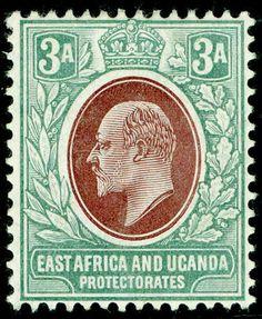 East Africa and Uganda 3 Anna 1900s