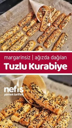Margarinsiz (Ağızda Dağılan) Tuzlu Kurabiye – Nefis Yemek Tarifleri How to make a Margarine-free (Mouth) Salty Cookie Recipe? Illustrated explanation of this recipe in the person book and photos of those who try it are here. Veal Recipes, Yummy Recipes, Cookie Recipes, Yummy Food, Salty Cookies Recipe, East Dessert Recipes, Toblerone, Sweet Tarts, Turkish Recipes