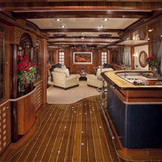 Yacht interior design